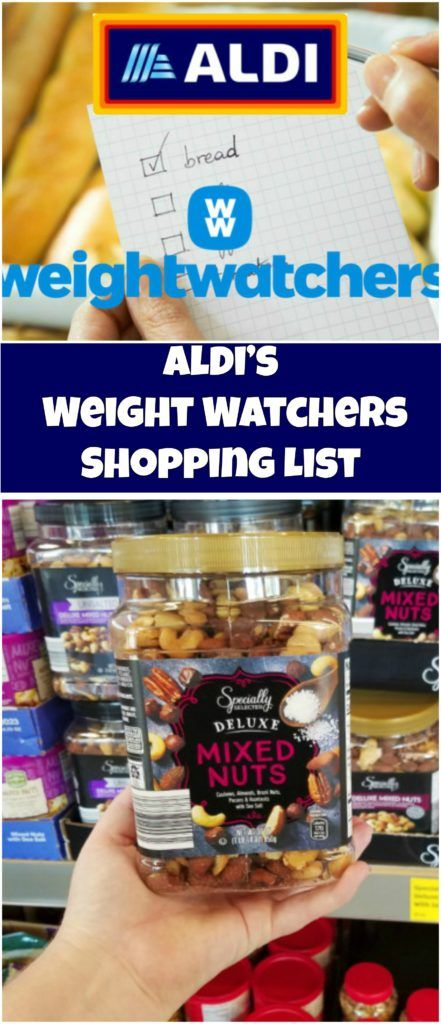 Aldi's Weight Watchers Shopping List
