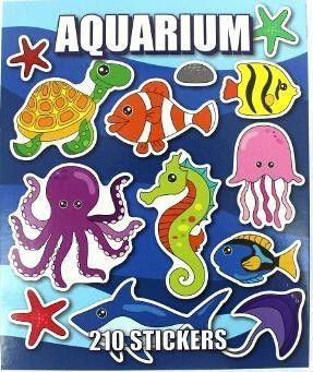 Aquarium Sticker Book