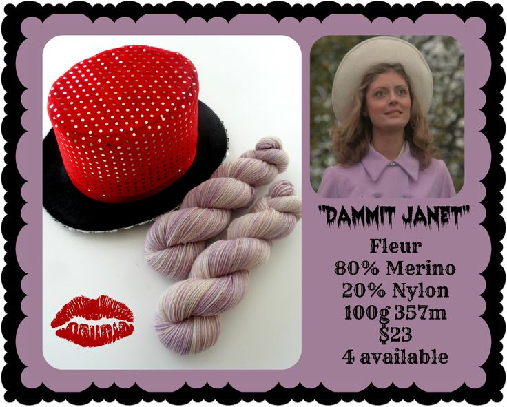 Damnit Janet - Rocky Horror Picture Show | Red Riding Hood Yarn