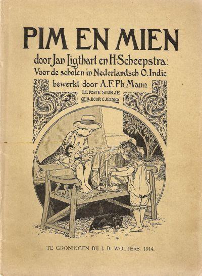 Pim en Mien eerste boekje. eerste druk.