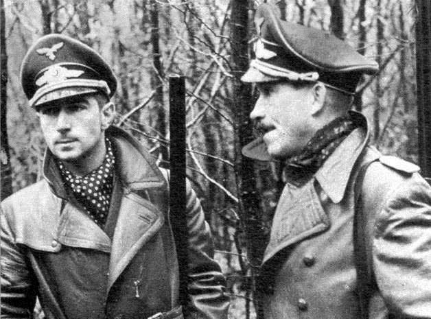 Werner Mölders y Adolf Galland