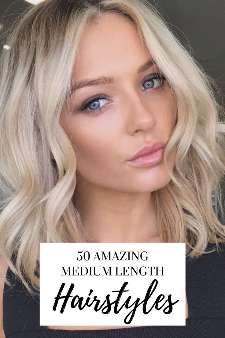 50 trendy medium length hairstyle ideas in 2020  medium