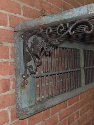 two shutters into a shelf...Condo decor @Trish Papadakos Papadakos Papadakos Papadakos Jones :)
