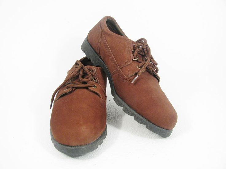 THOM McCAN Women's Comfort Shoes Brown Suede Leather OXFORD Lace Up  Sz 10 W #ThomMcCan #Oxfords #Casual
