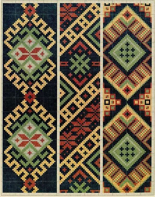 """Borduurpatroon """"Motieven"""" Kruissteek *Cross Stitch Pattern"""