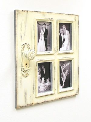 17 best images about family photo displays on pinterest for Decorative door frame ideas