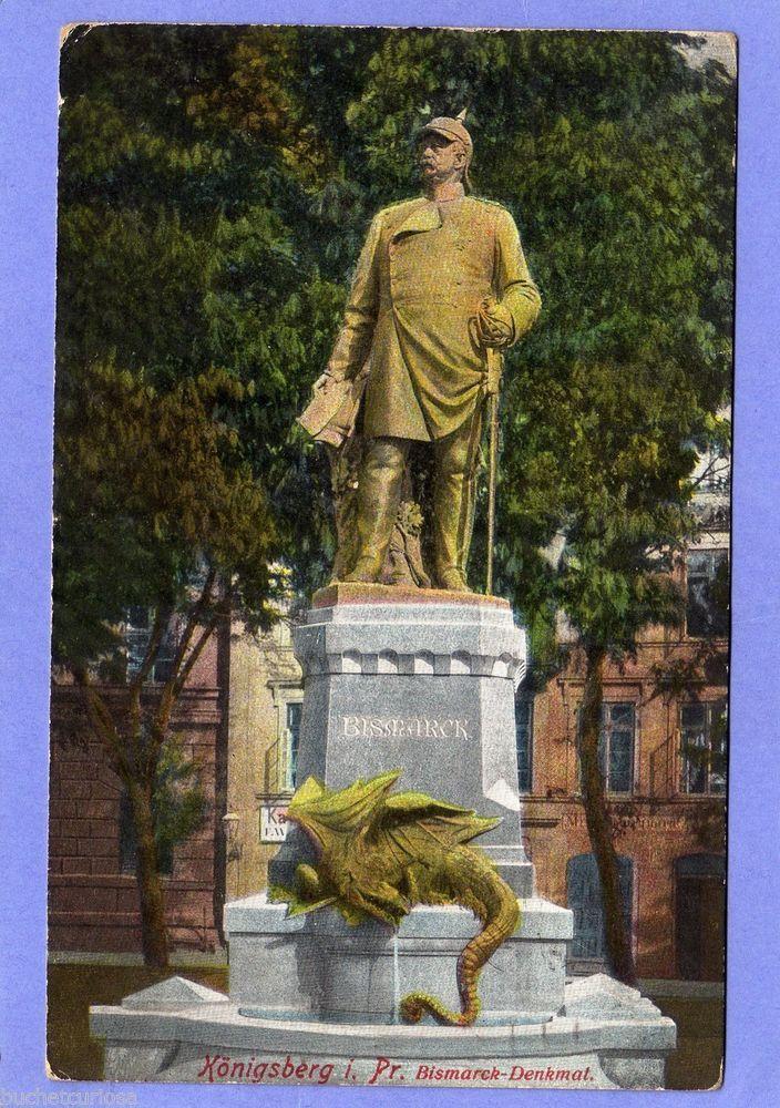 AK KÖNIGSBERG in Pr. 1915 Bismarck-Denkmal, Ostpreussen