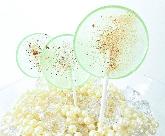 Spicy Cucumber Melon Gourmet Lollipops Pick Your by LuxeLollipops