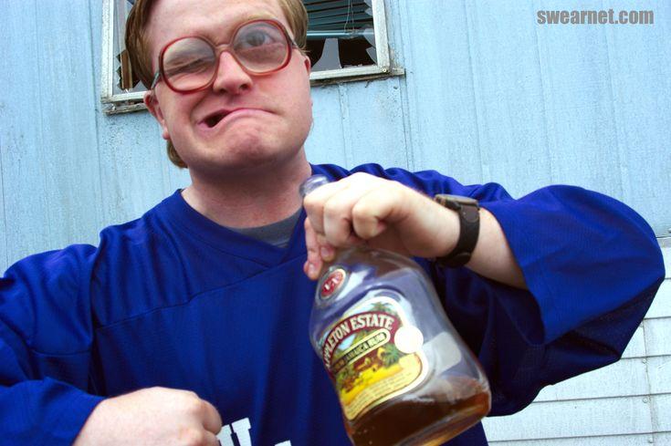 Get 'er in ya! #TrailerParkBoys #Bubbles #liquor #sassy