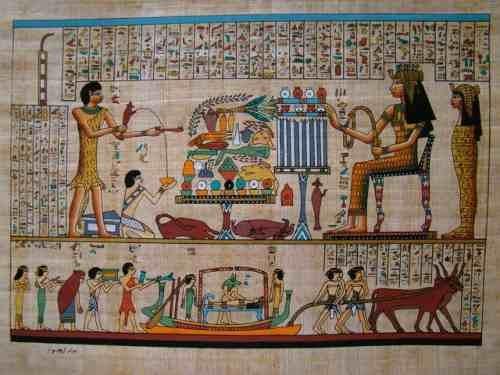 papiro-egipcio-presente-oferenda-isis-egito