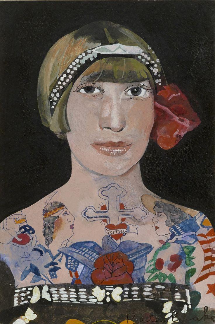 Portraiture work, by Peter Blake   Design Week
