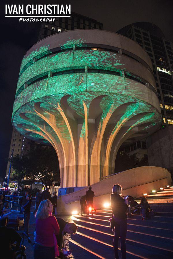 Vivid Sydney, Urban Tree at the MLC Centre, Martin Place - Ivan Christian Photography