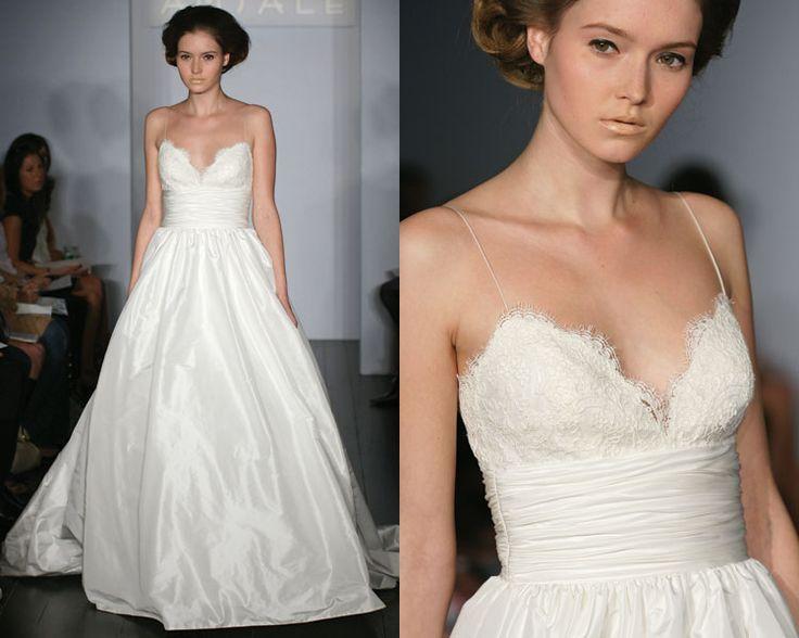 my wedding dress - <3 it. Amsale.