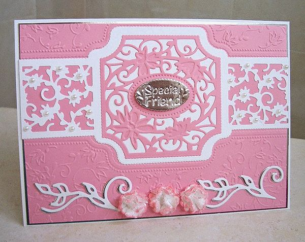 Blog tonic: A Card for a Special Friend - from Edna