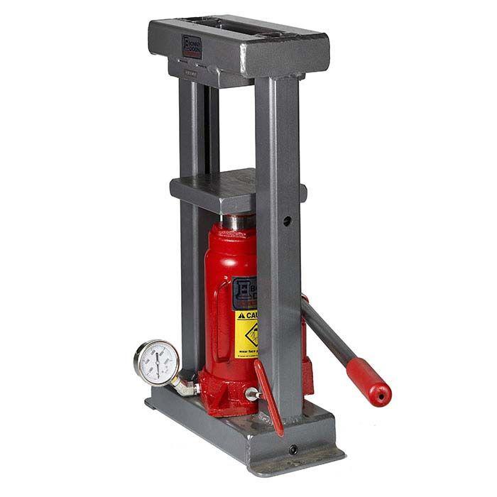 Bonny Doon Classic 20 Ton Manual Press Ram Metal Bending Tools Homemade Tools Machine Shop Projects