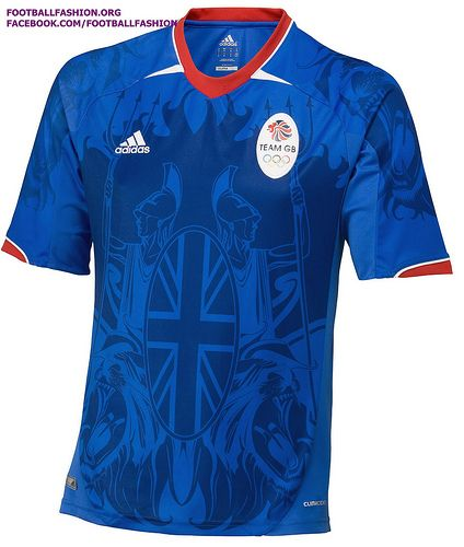 Great Britain Olympic Soccer Team Jerseys....