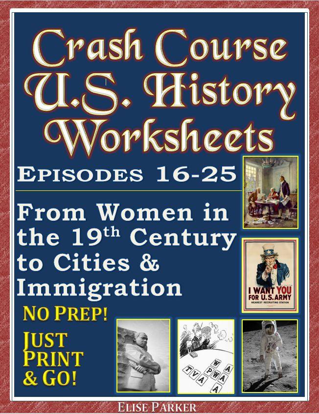 35 best crash course u s history worksheets images on pinterest crash course history history. Black Bedroom Furniture Sets. Home Design Ideas
