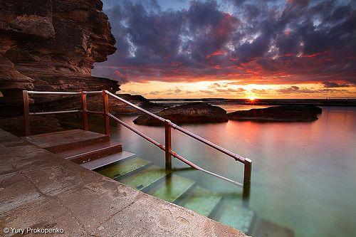 Curl Curl, Sydney, Australia. Go for a swim.