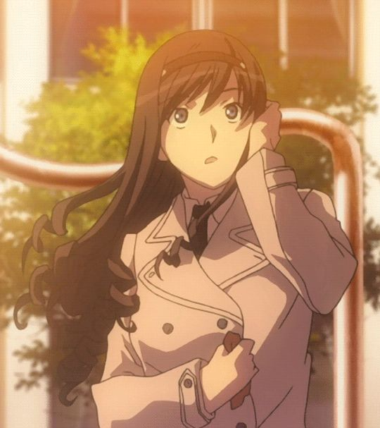 Cute Anime Girls — Haruka Morishima is so cute.