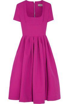 Preen by Thornton Bregazzi Stretch-crepe dress | NET-A-PORTER
