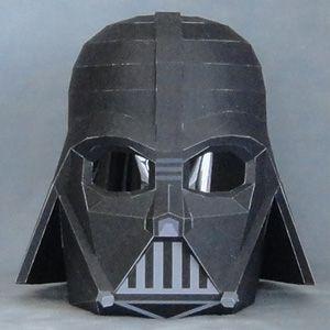 Papercraft imprimible y armable de Darth Vader de Star Wars. Manualidades a Raudales.
