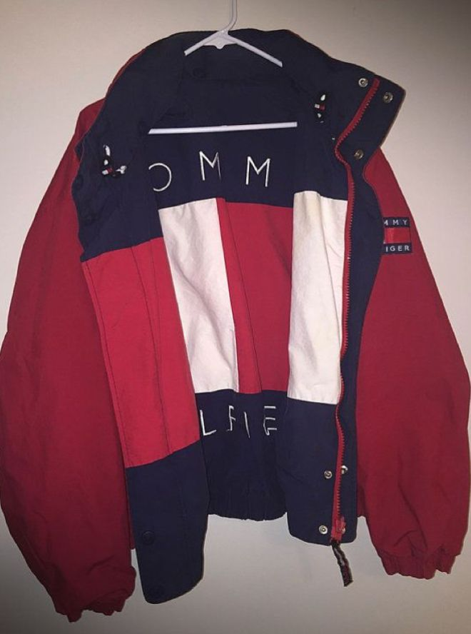 Rain Jacket (Hilfiger 90's windbreaker)