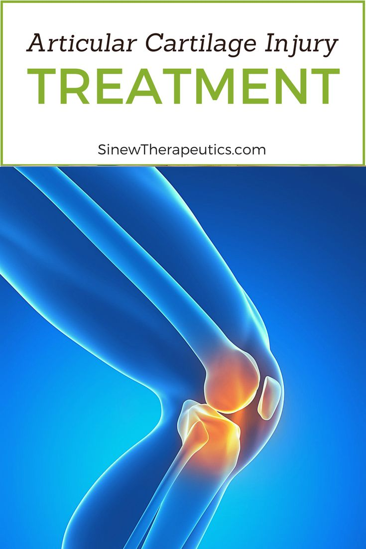 Articular Cartilage Injury Treatment - If you have visible swelling, apply the Sinew Herbal Ice on the area to reduce redness, swelling, and inflammation while dispersing accumulated blood and fluids to help restore normal circulation to the ankle. This first-aid treatment is used in place of ice to significantly speed up the healing process. Learn more at SinewTherapeutics.com
