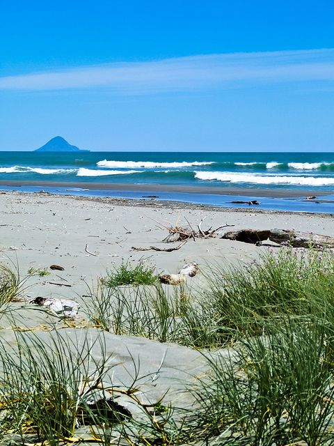 Moutohora Island - also known as Whale Island, near Whakatane , North Island, New Zealand