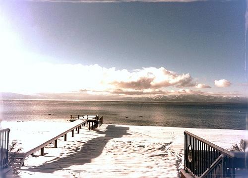 I miss winter so hard.  #Lake #Tahoe #Snow