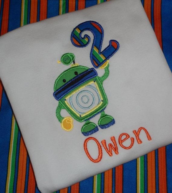 Team Umizoomi birthday shirt by SweetBellaz on Etsy, $22.00