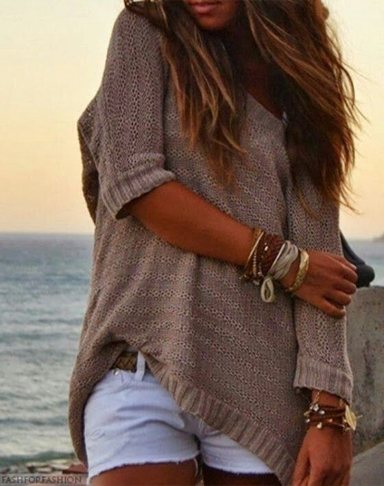 love this sweater and jewelry