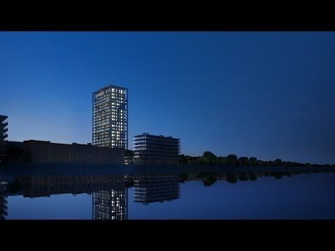 Scheldezicht Animation | Residential Tower in Antwerpen - ZOA