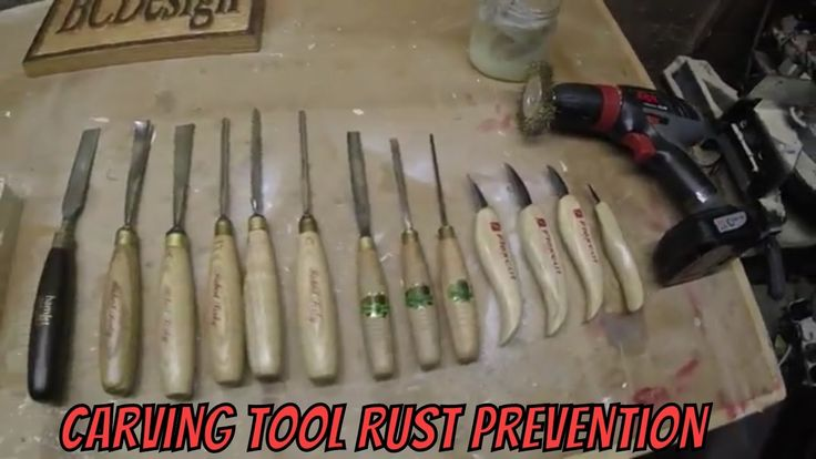 How To : Woodworking Carving Tool Rust Prevention