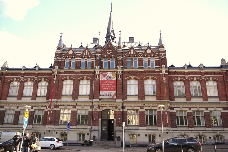 Designmuseo - the Finnish Museum of Design. This building was originally a school, designed by architect Gustaf Nyström in 1894.