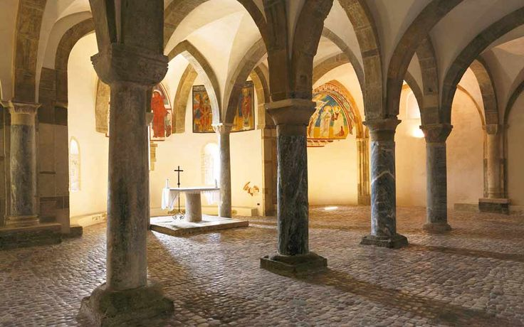 Abbazia di San Giovanni in Venere a Fossacesia - la cripta