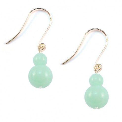 Lola Rose Kaylee Capri Green Quartzite Earrings at aquaruby.com