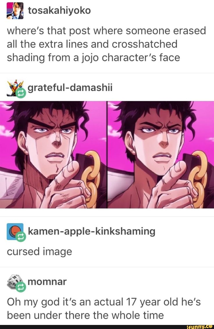 Idk how to feel. Plus they got rid of all that in part 4 and made him paler so :'v The buff and muscly aspect of the Jojo's died with Jotaro in Stardust Crusaders.