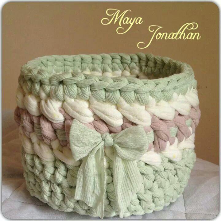 Cesta trapillo Maya Jonathan