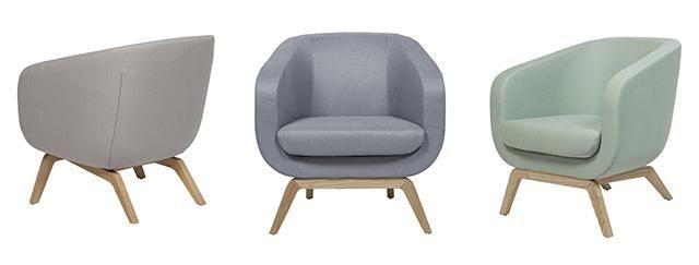 GlobeWest - Juno Tub Occasional Chair