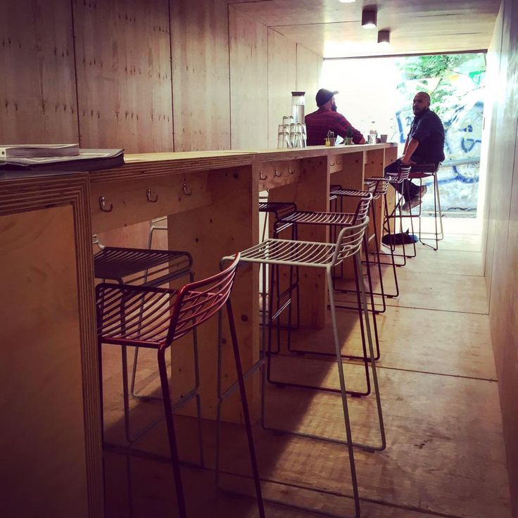 """""""Bumped into a new super cool addition to Berlin's 3rd Wave Coffee Shops (Casita). In a giant container. Torstrasse 67"""""""