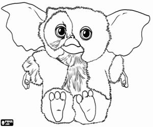 coloring pages and more com | Gizmo Gremlins Coloring Pages | Gremlins in 2019 ...