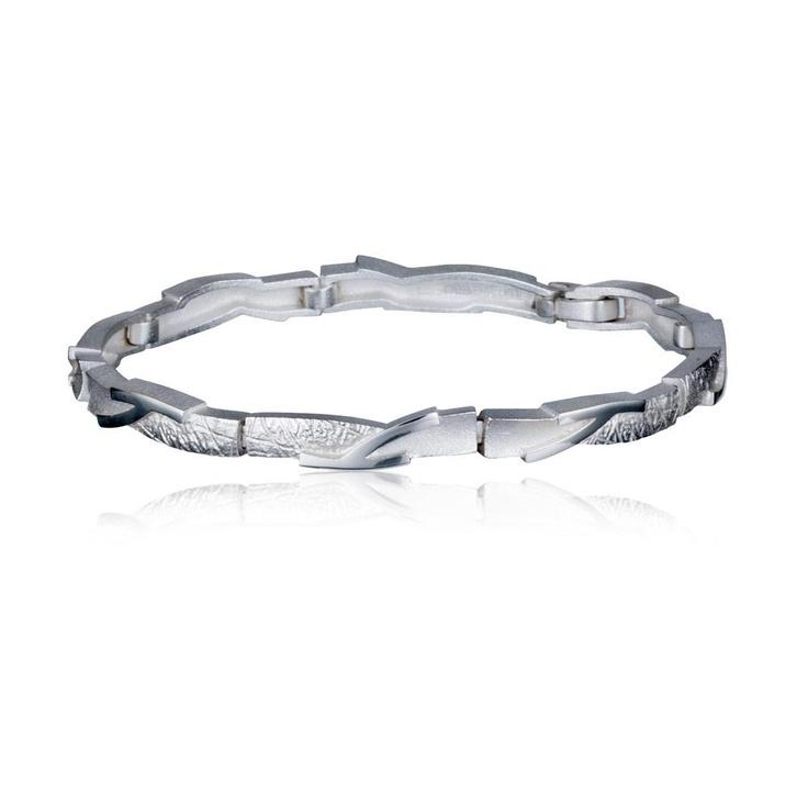 BRANCHES  Design Christophe Burger  / Silver Bracelet / Lapponia Jewelry / Handmade in Helsinki