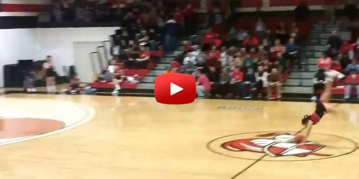 Watch This Cheerleader Nail the Coolest Half-Court Shot You've Ever Seen  - Cosmopolitan.com