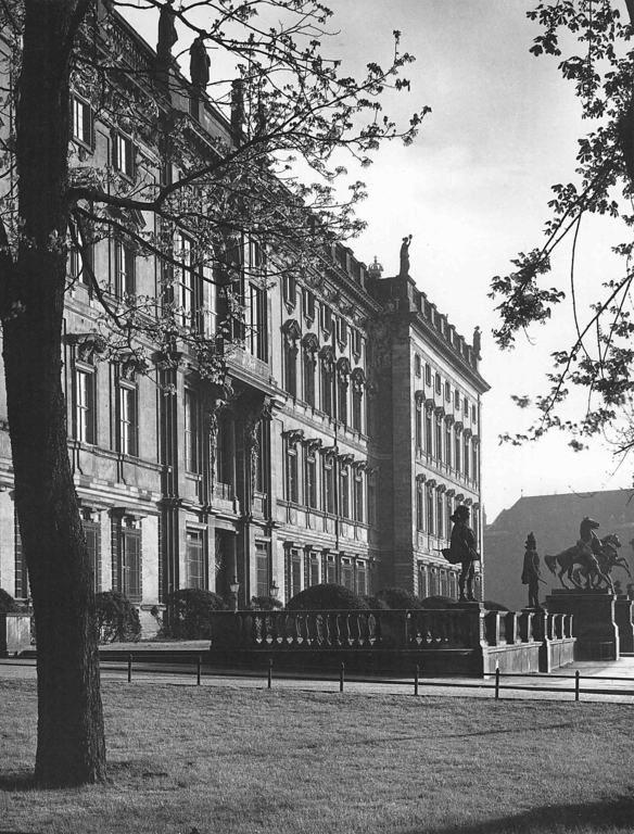 Berlin Stadtschloss Terrassen, um 1900