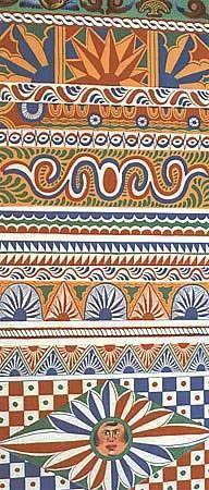 Sicilian traditional texture