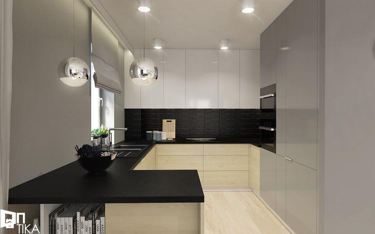 Kuchnia styl Nowoczesny - zdjęcie od TIKA Architektura wnętrz i krajobrazu - Kuchnia - Styl Nowoczesny - TIKA Architektura wnętrz i krajobrazu
