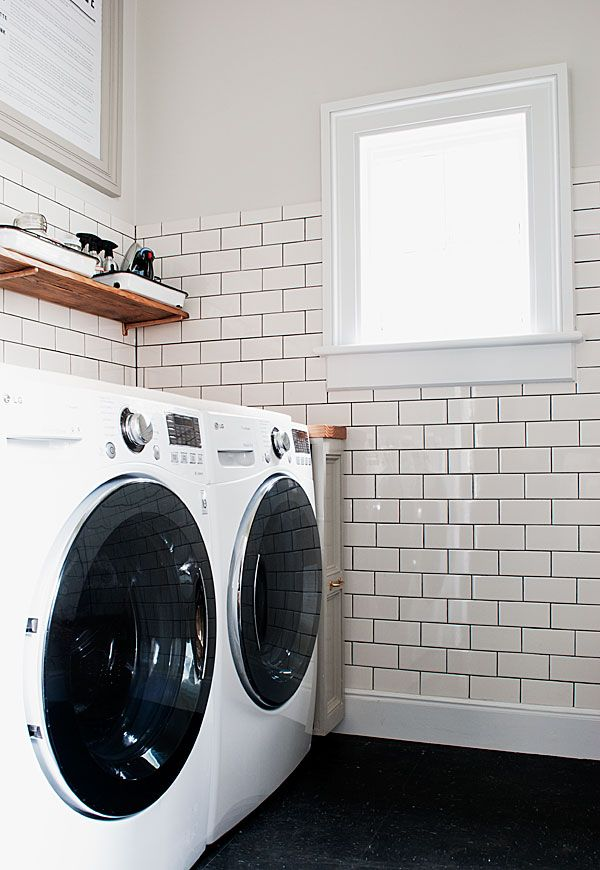 The Laundry Room is Done! | Manhattan Nest