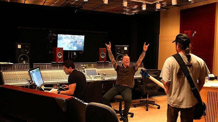The New Metallica Single Is Upon Us   Now Watch The Official Studio Footage!