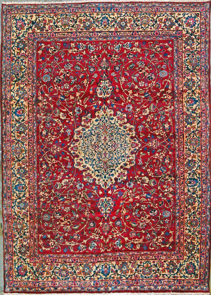 "Yazd Persian Rug - 8' 2"" x 11' 6"""