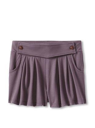 60% OFF Silvian Heach Girl's Dusty Short (Purple)